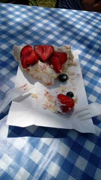 עוגת מרנג ופירות מדהימה