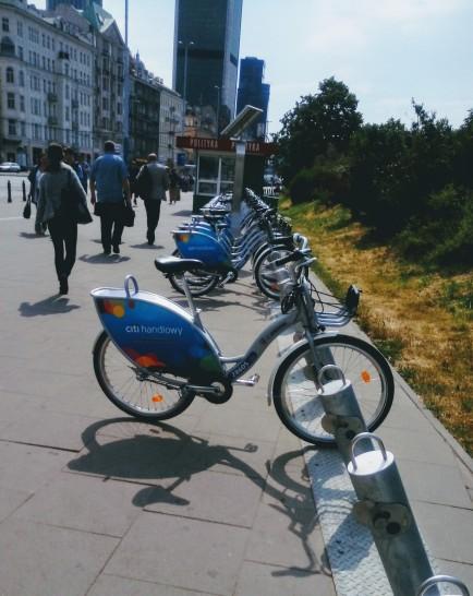 אופניים ציבוריים לשימוש חופשי