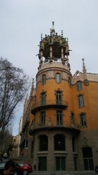 בית אצולה ביציאה מתחנת טיבידאדו