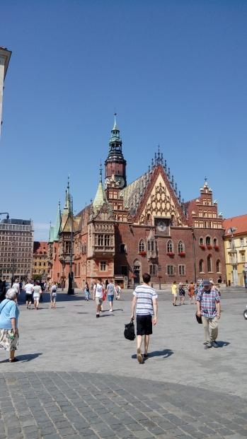 כיכר העיר העתיקה בוורוצלב
