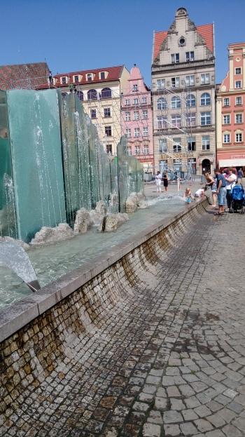 המזרקה הגדולה בכיכר