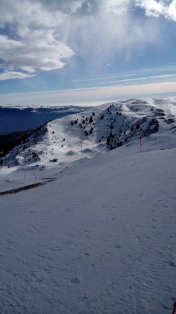הנוף בקצה הר בלאדו