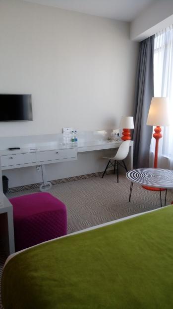 החדר במלון ibis style